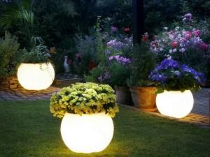 eclairage jardin securite