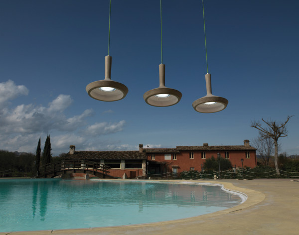 Luminaire en suspension ou lustre luminaire for Suspension luminaire exterieur design