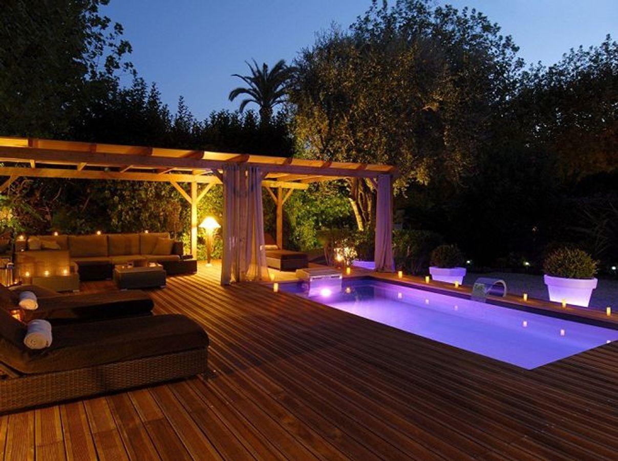 Idee Eclairage Terrasse Piscine piscine de nuit : 6 idées déco tendances - luminaire